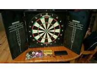 Complete dart set with flights and darts