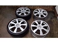 "Alloy wheels OZ Racing Titan 18"" - Set of 4"