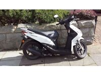 2015 HONDA NSC50 / VISION 50 AUTO SCOOTER ONLY 337 MILES HONDA 1 YEAR HONDA WARRANTY CAN DELIVER