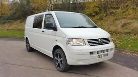 VW TRANSPORTER T5 T30 1.9TDI 102BHPLONG WHEEL BASE INSULATED CARPETED NOT T4