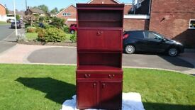 2 William Lawrence Mahogany Cabinets