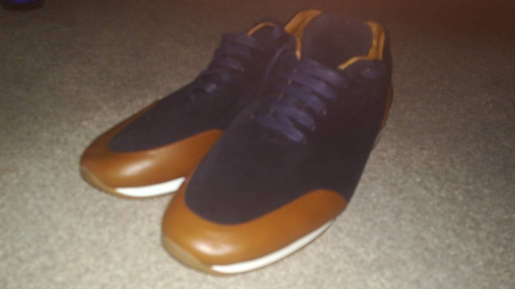 Massimo Dutti Suede and Leather Shoes