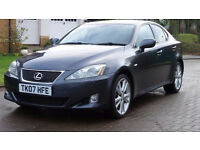 LEXUS IS 2.2 220D SPORT 4d 175 BHP BLUETOOTH, 1 OWNER, 9 SERVICE STAMP(8 FROM LEXUS)