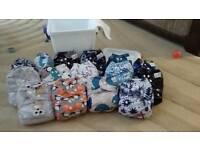 15 reusable alva nappies