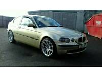 BMW 320D SE COMPACT FULL MOT WILL PX SWAP