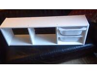 Trofast wall storage unit plus 2 tubs