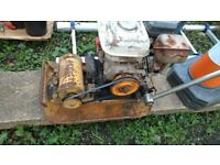 Compaction Plate _ (Not working)_ For Spares or Repairs
