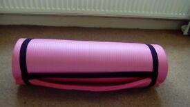 15mm thick, non slip yoga mat