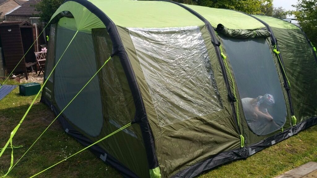 Urban Escape 6 Man Inflatable Tent Air Tent New Green