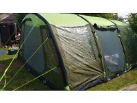 Urban escape 6 man inflatable tent air tent NEW. Green.