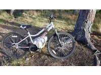 Boy's mountain bike