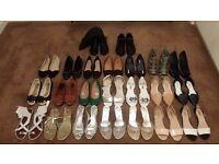 Women's Shoe Bundle Size 7 - 23 Pairs