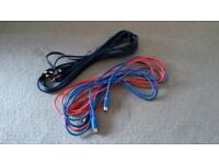 Audio/Studio Cables (RCA & MIDI). £10