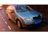 Quick sale or swap skoda fabia 1.2.l