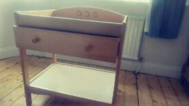 Wooden Mothercare Changing Table