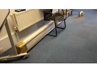 Trunking for Cables/Data. 100mm x 50mm x 3 metres. White. 8 lengths