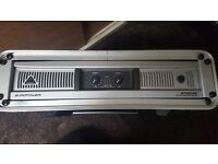 Behringer esp2000 europower amplifier