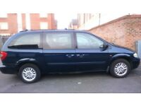 Chrysler Gran Voyager 2.8crd LX Diesel Auto Stow & Go 7 seats