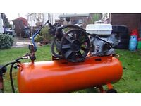 AIR Compressor - 100 Litre Petrol Compressor