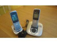 Panasonic Dual Cordless Phone with Answering Machine