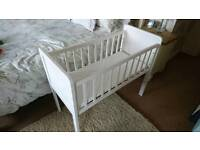 Mothercare cot with matress