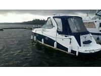 Boat diesel sports cruiser
