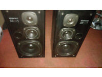 Kenwood LS-97 3 way book shelf speakers