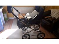 Babystyle prestige 3 in 1 travel system immaculate condition