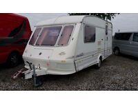 Elddis Hurricane - 2 Berth Touring Caravan