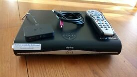 Sky + Box, Handset and On Demand unit.