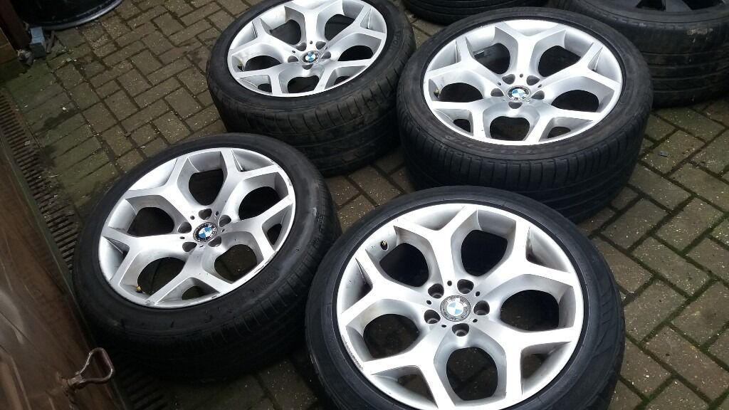 20 Bmw X5 X6 Alloy Wheels M Sport Style 214 With Tyres