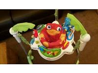 Fisher price rainforest Jumperoo swing Bouncer Bounce