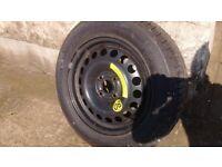 Vauxhall Corsa spare wheel / tyre. Unused