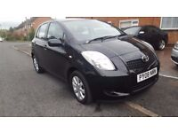 TOYOTA YARIS TR MODEL, AIR CON, 2KEYS,ALLOYS,ELECTRIC WINDOWS,RADIO/CD,VERY ECEONOMICAL HPI CLEAR