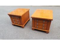 Two Small /chest of draws for sale ,contact number 07989088223