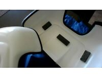 White Mirror Guard Door Protection Covers For Motor Homes