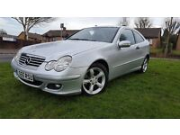 mercedes c160 1.8 manual with near complete service history lovely condition