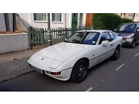 Porsche 924S 1986 - Alpine White - manual 2.5