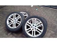 Vectra sri 17 inch alloy wheels
