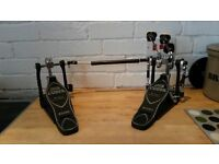 Immaculate Iron Cobra Powerglide double pedal: barely used, full working order.