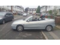Renault Megan Convertible, Good Runner, Low Mileage, Only 3 Previous Owners,