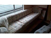 Caravan Large Cushions & seating frame