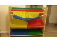 Toy/book storage/organiser
