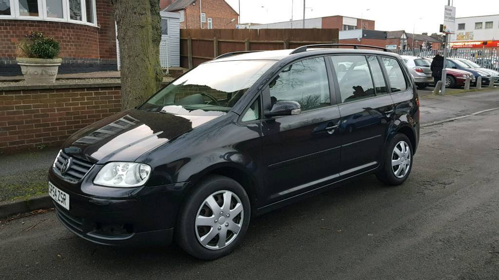 2004 volkswagen touran 7 seater 2 0 fsi 6 speed manual in gedling nottinghamshire gumtree. Black Bedroom Furniture Sets. Home Design Ideas