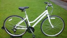 LADIES RIDGEBACK SPEED STEP THROUGH HYBRID BIKE * FULLY SERVICED / AS NEW CONDITION *