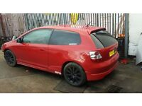 "HONDA CIVIC EP2/ EP3 SET OF 16"" ALLOY WHEELS IN BLACK."