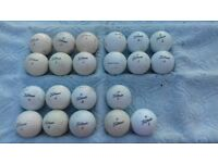 Used titleist golf balls for sale