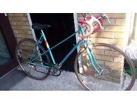 Vintage Peugeot Ladies Road Racing Bike