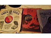 Records vintage gramophone