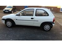 Vauxhall corsa 1.2 litre engine, manual, 58000 mileage, mot valid till August 2017, great condition